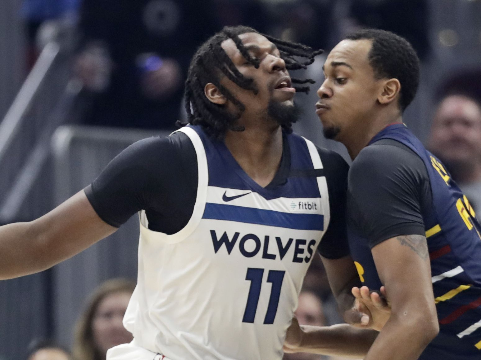 T-Wolves blow huge second-half lead, hold off Cavs 118-103