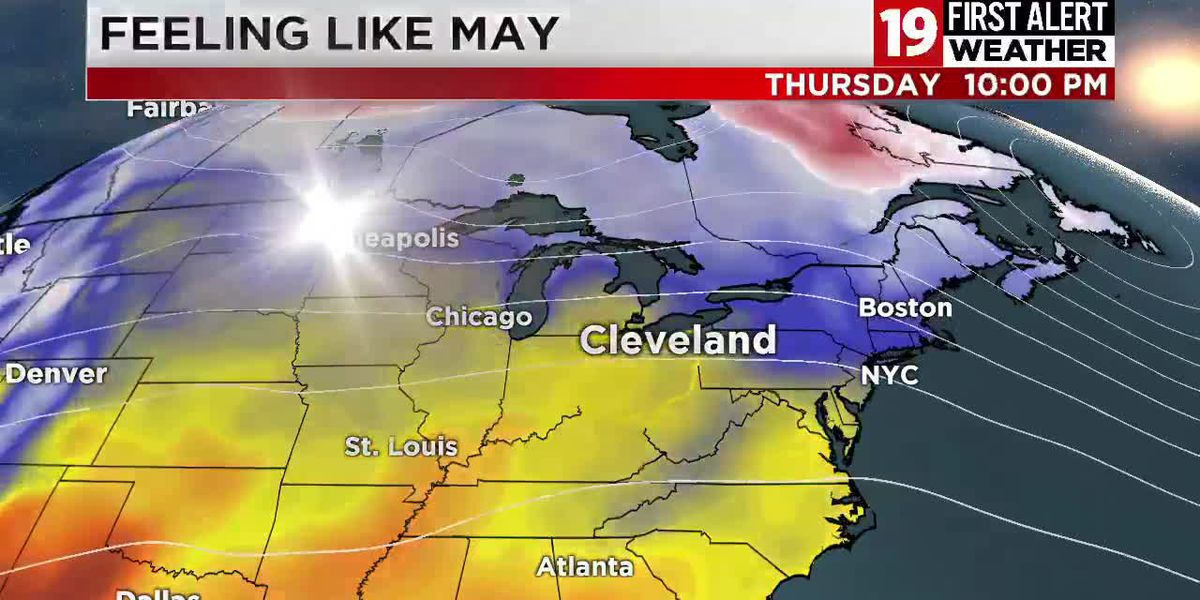 Northeast Ohio weather: Frost Advisory tonight; turning wet, warm, and stormy by Thursday
