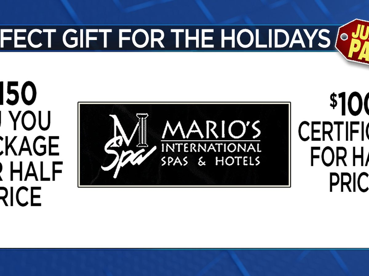 Noon News Giveaway, Wed 11/28 - Fri 11/30 ~ Win a Mario's Gift Certificate