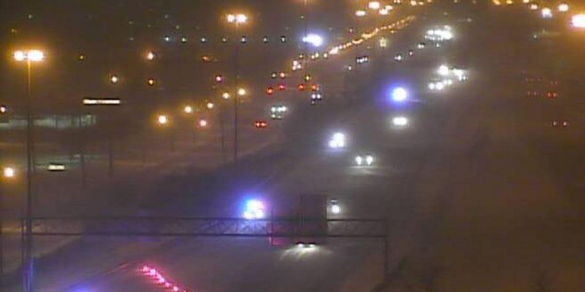 Road conditions spur brief closure of I-90 eastbound near Euclid