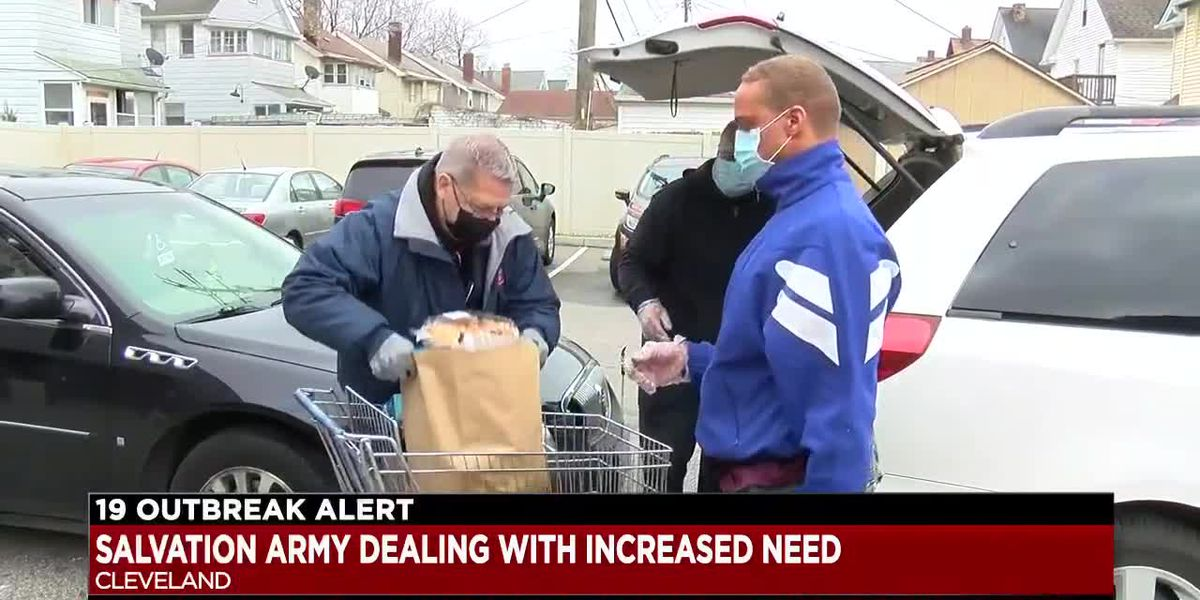Salvation Army of Greater Cleveland also holding food drives as needs mount