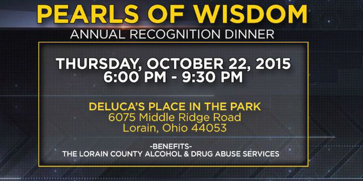 LCADA Pearls of Wisdom, annual recognition dinner
