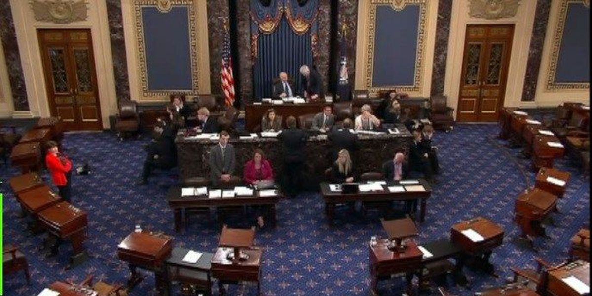 81-18: Senate vote ends government shutdown Monday