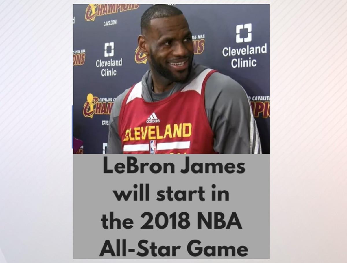 5526e66bb1b4 LeBron James   Kyrie Irving named starters for 2018 NBA All-Star game