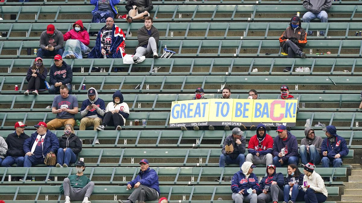 Cleveland Indians announce fan capacity at Progressive Field is increasing