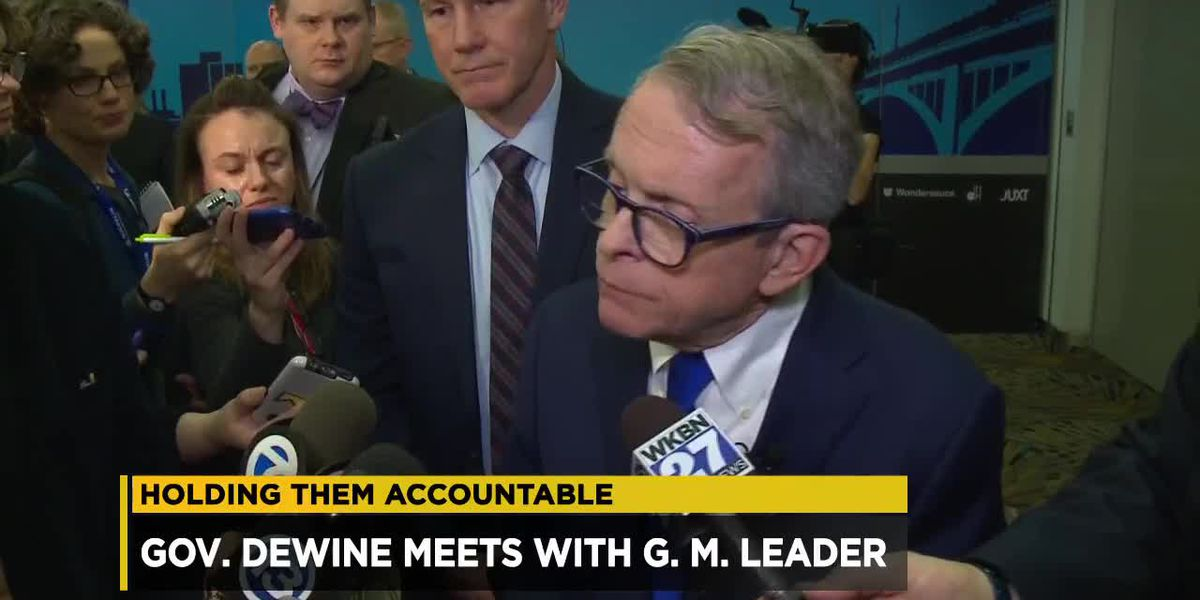 Governor DeWine set to meet with General Motors CEO in Detroit