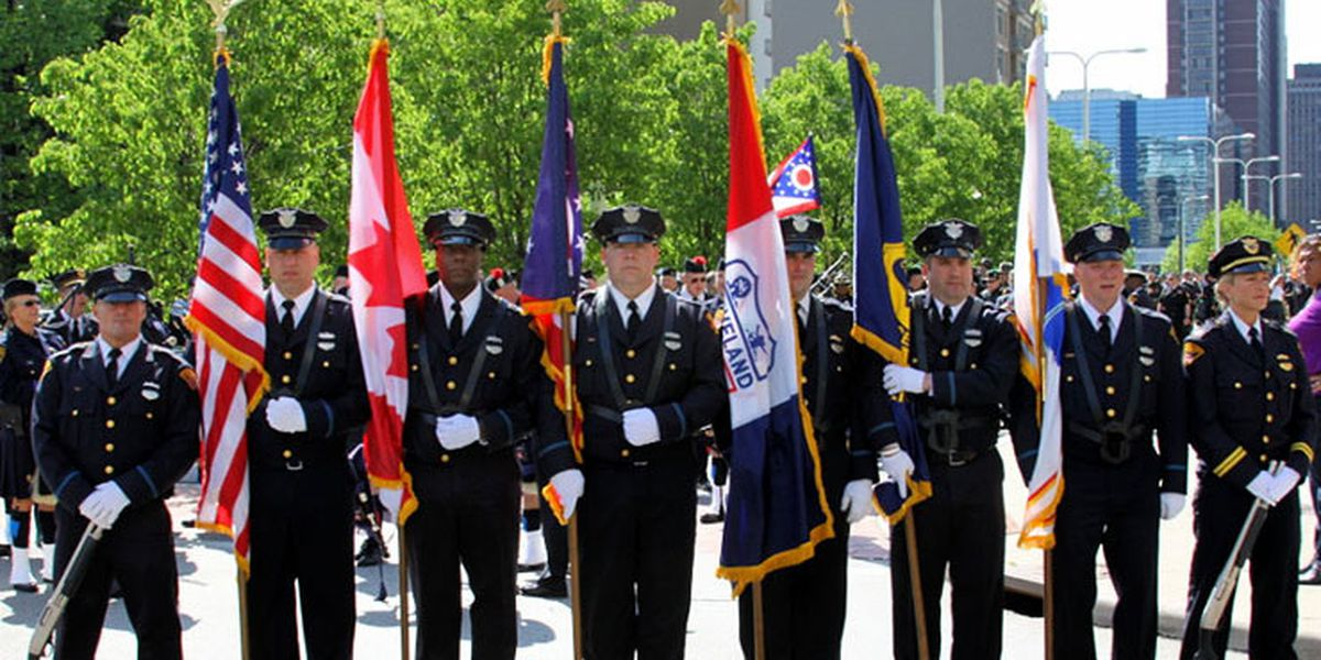 34th Annual Greater Cleveland Peace Officers Memorial Society Commemoration parade Friday
