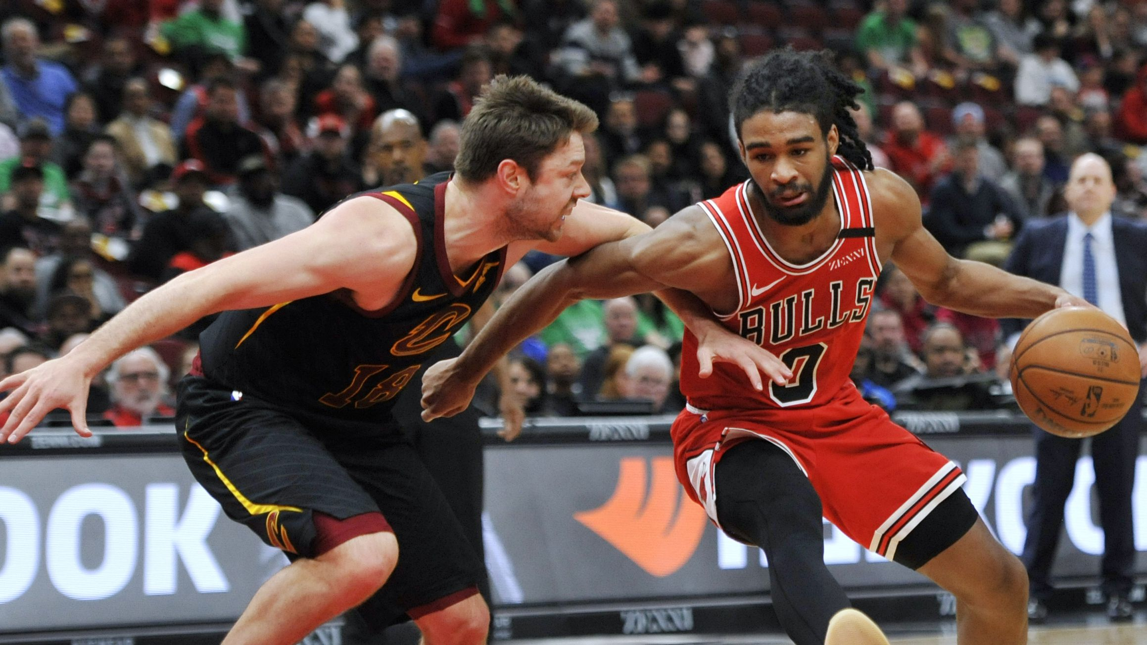 White scores 20, commits 9 TOs, Bulls beat Cavaliers 108-103