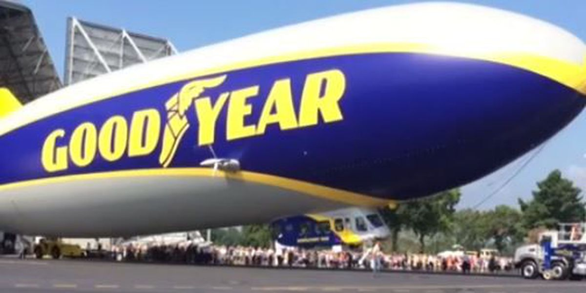 Goodyear Blimp flying over Northeast Ohio hospitals to thank healthcare workers, essential personnel