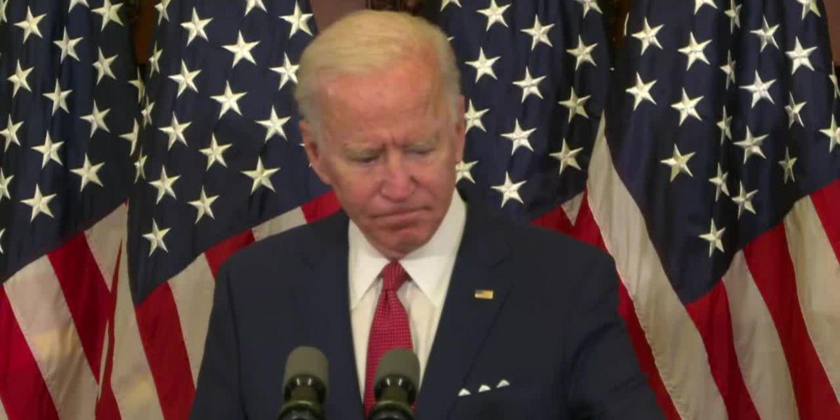 Biden: Floyd's last words didn't die with him