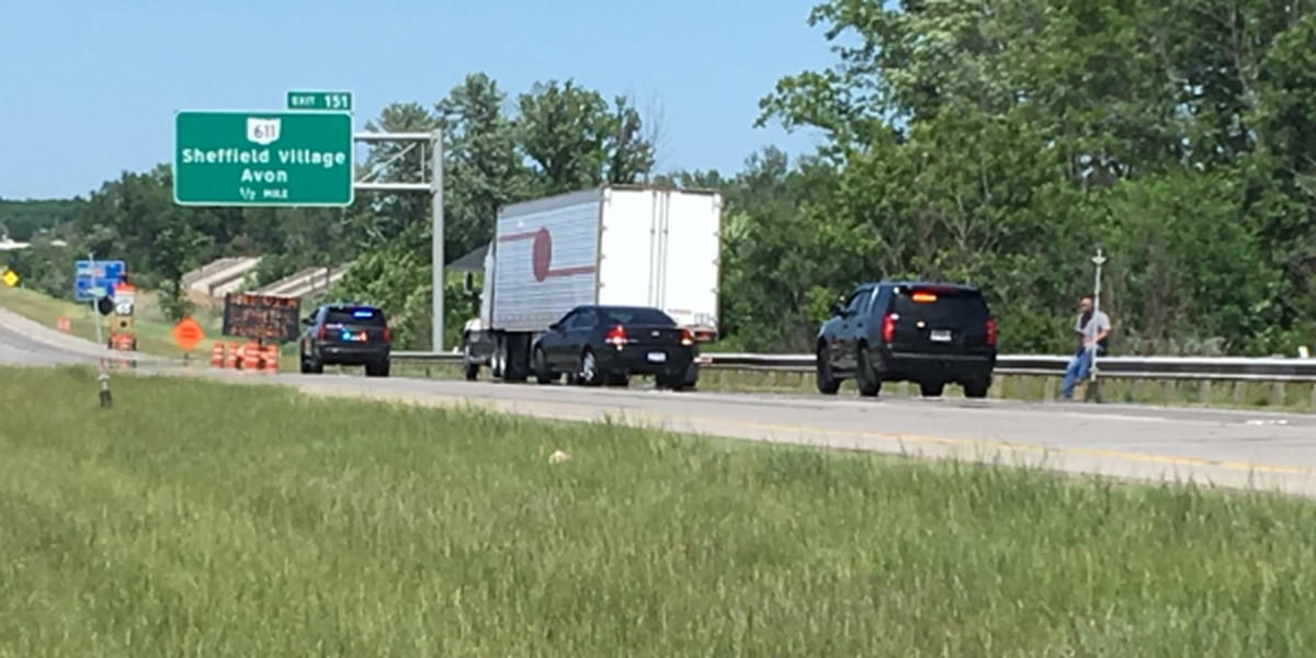 Name released of North Ridgeville man who died after being hit by semi-truck on Interstate 90