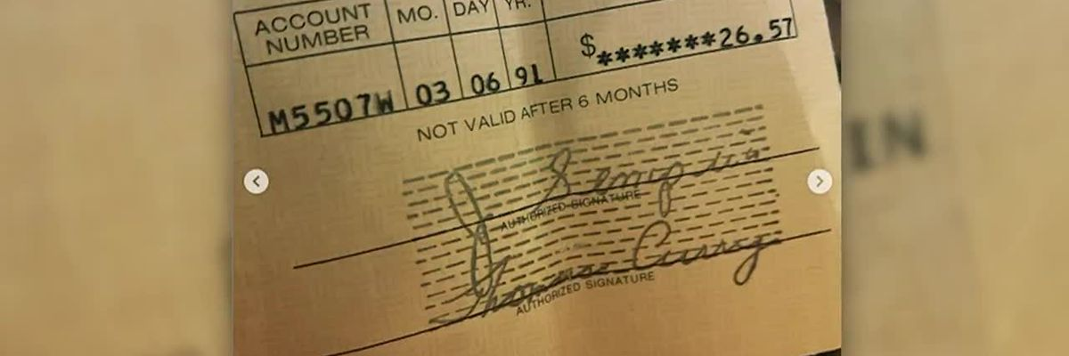 Record store finds 1991 Kurt Cobain royalty check