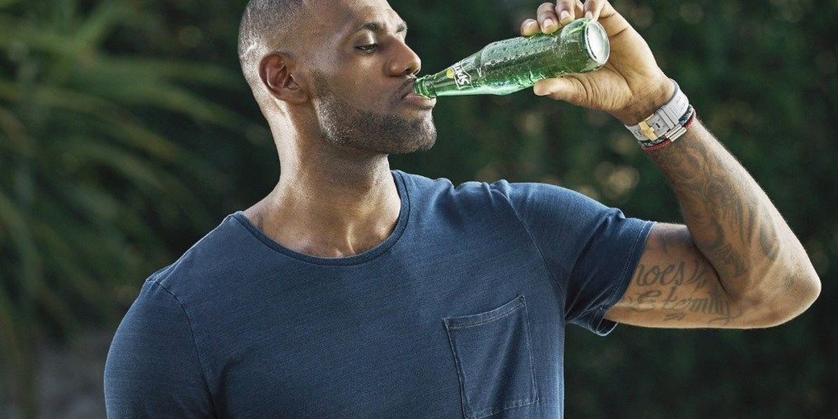 'Wanna Sprite': LeBron James teams up with soft drink giant once again