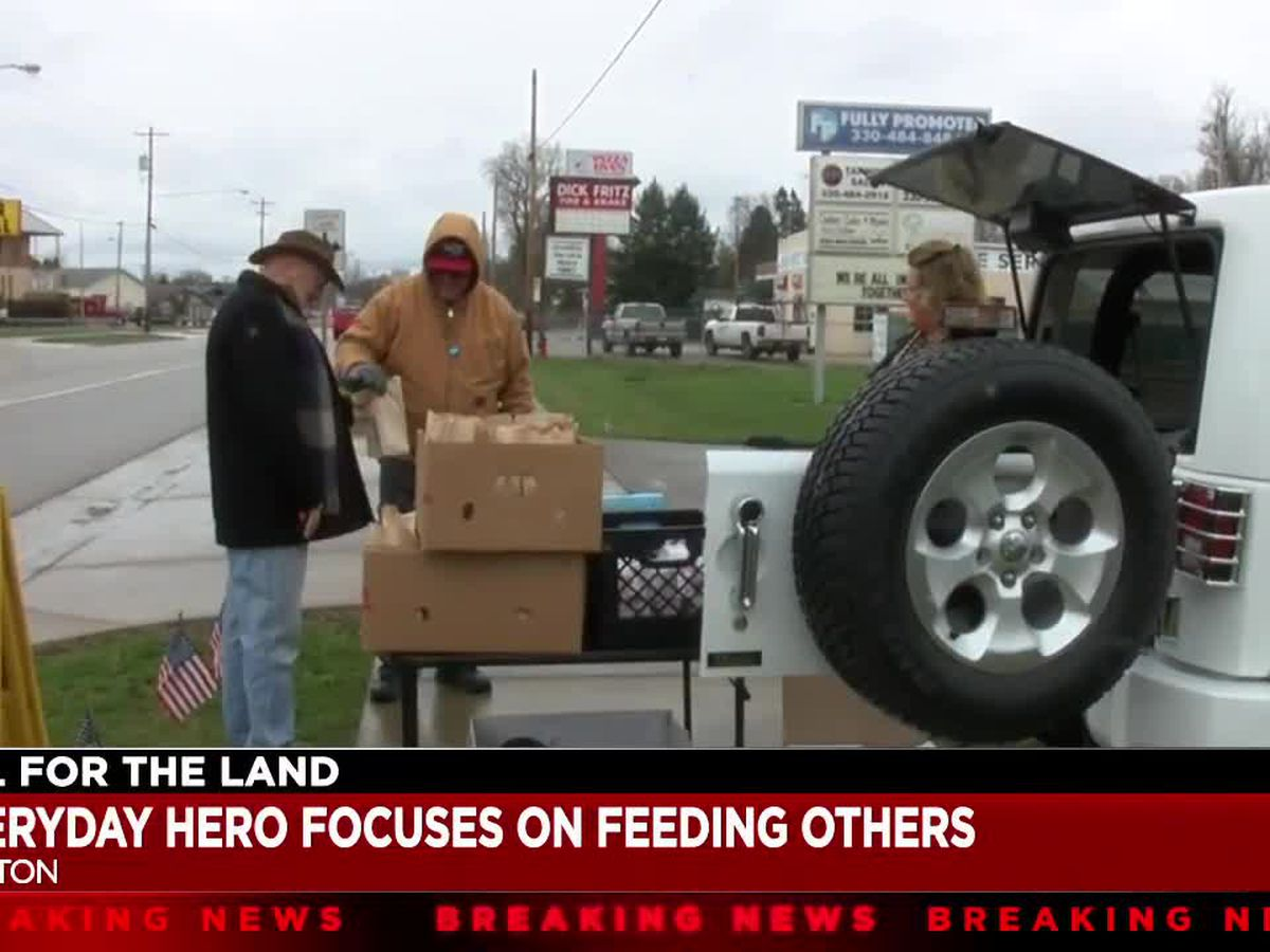 'It's been humbling': Canton man handing out hundreds of bagged lunches in the community