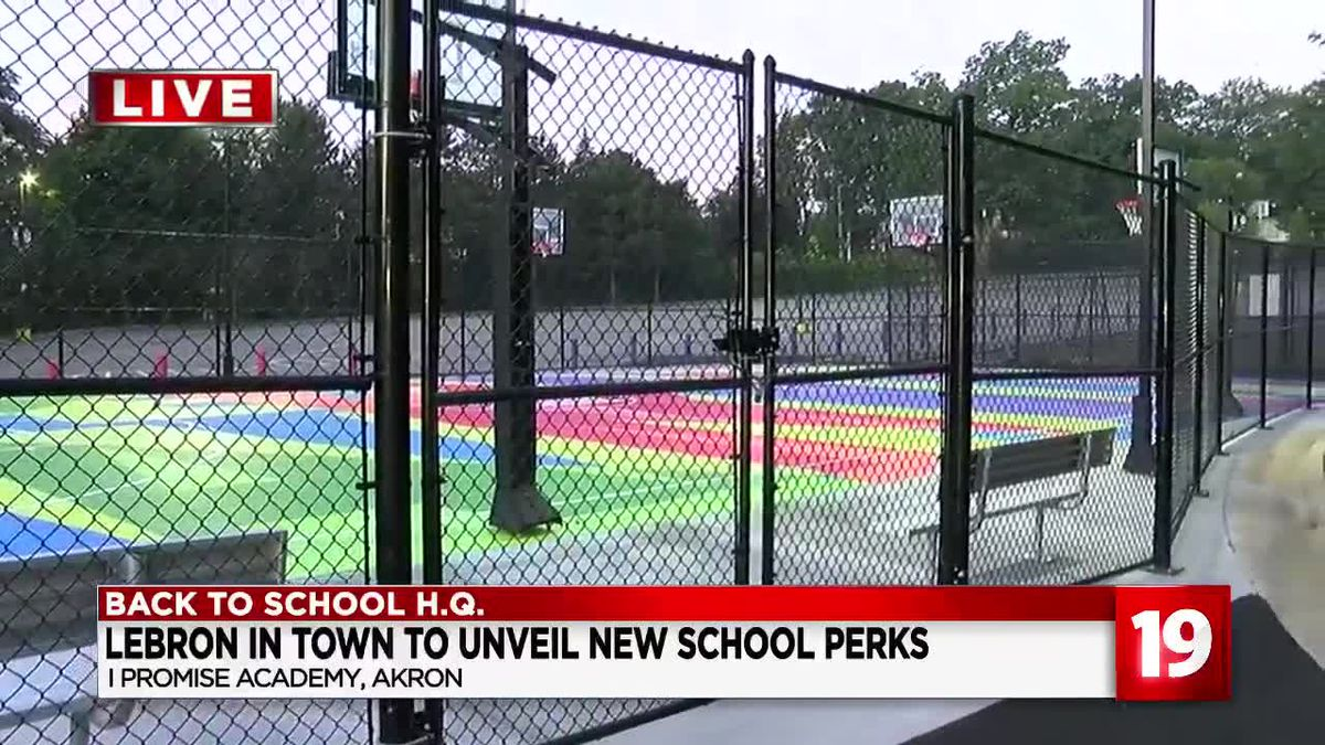 LeBron James Family Foundation unveils new facilities at I PROMISE School in Akron