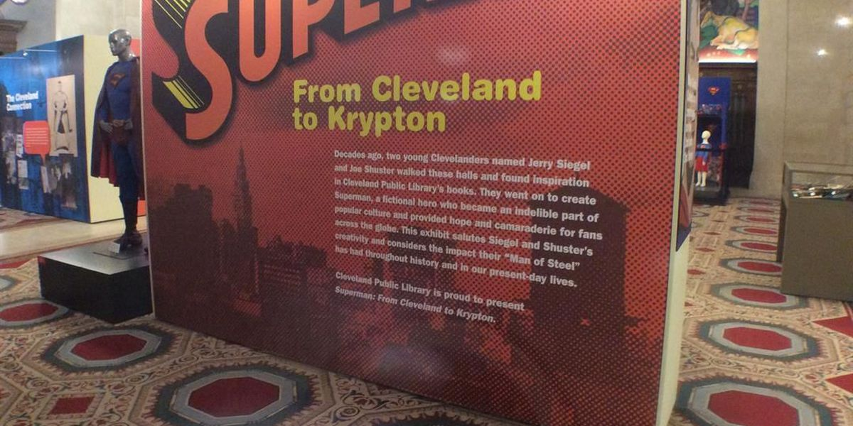 Check out this amazing Superman exhibit while you still can (photos)