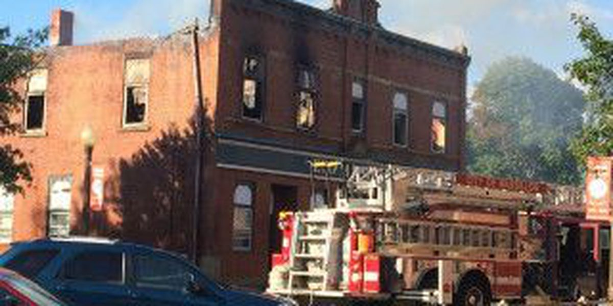 Fire destroys historic building in Canal Fulton