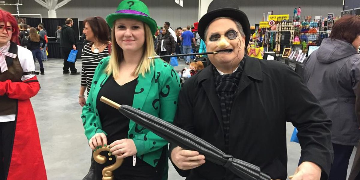 Cosplay at its best at Wizard World Cleveland