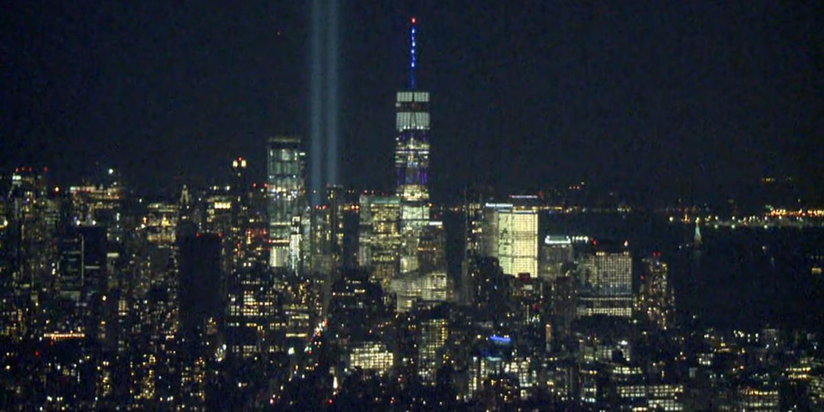 Twin beams of light won't shine during 9/11 tribute in NYC due to coronavirus