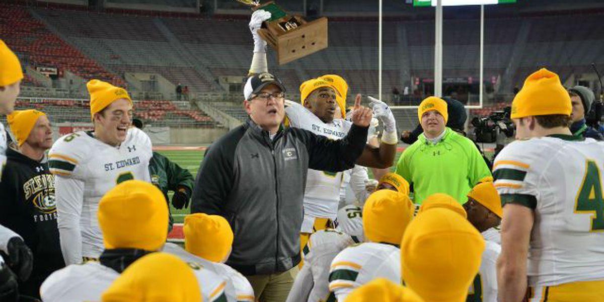 St. Edward football coach Rick Finotti accepts offer at University of Michigan