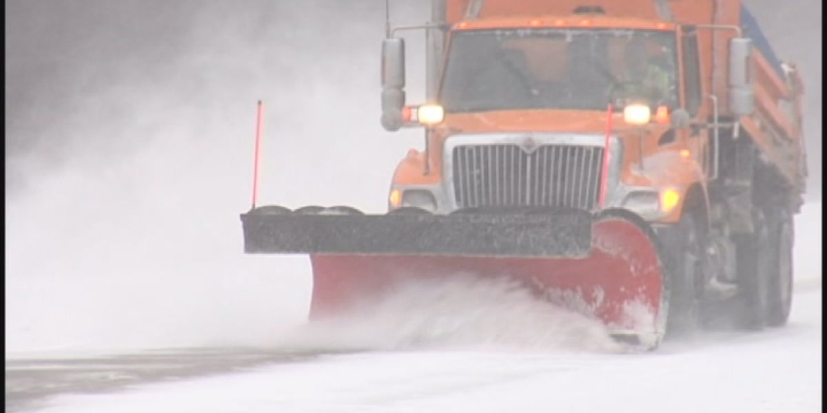 Hazmat crews respond to snowplow collision at Cleveland Hopkins International Airport