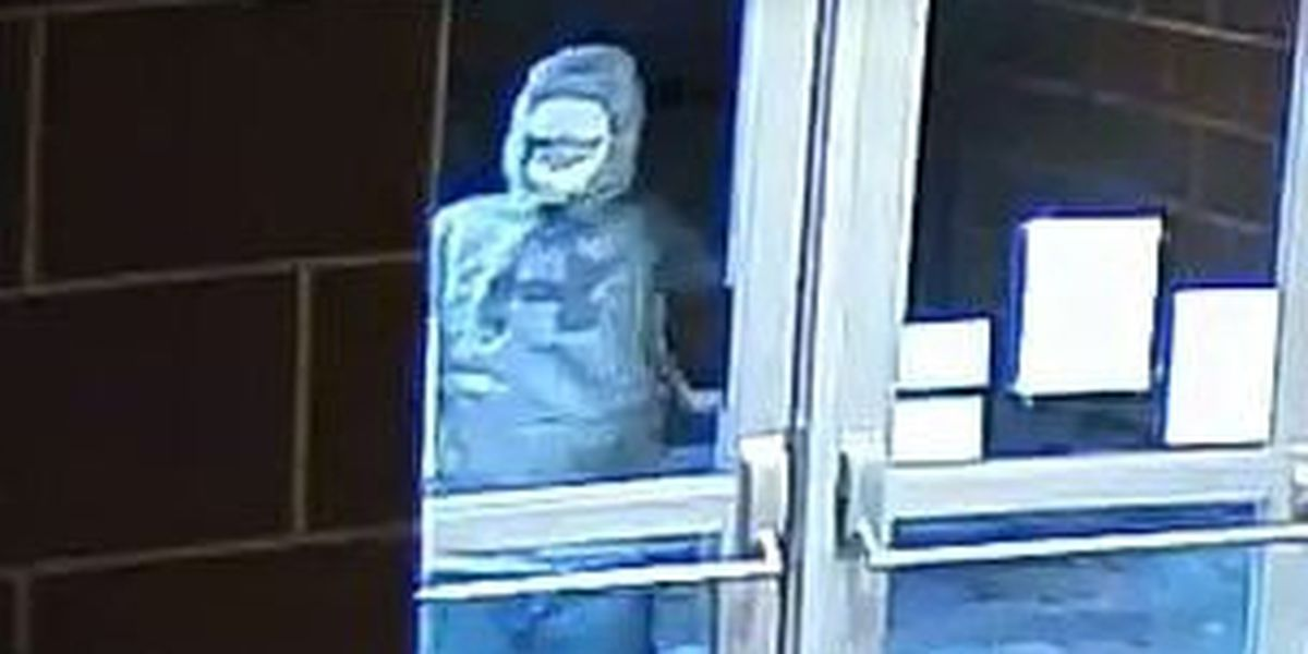 Police release surveillance video in continued search for suspect who broke out several windows at Kent Roosevelt High School