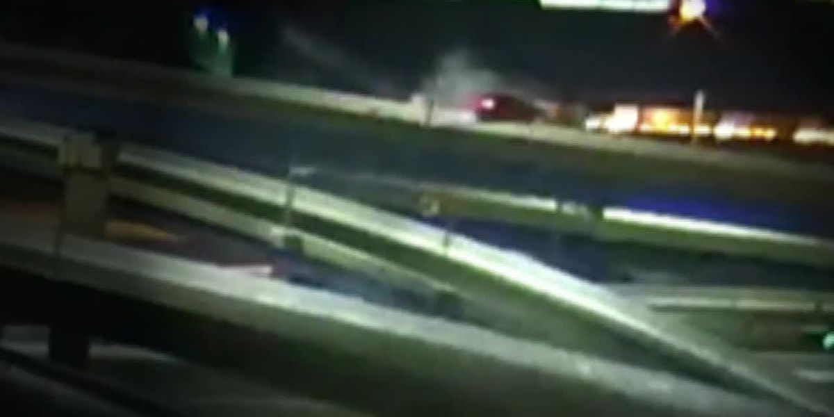 WATCH: 2nd Wisconsin driver in 2 weeks flips over edge of interstate ramp, falls to ground