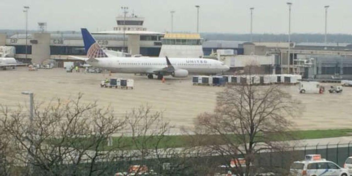 United Airlines makes emergency landing at Hopkins