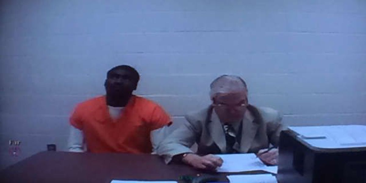 Accused baby killer pleads not guilty at arraignment, bond continued