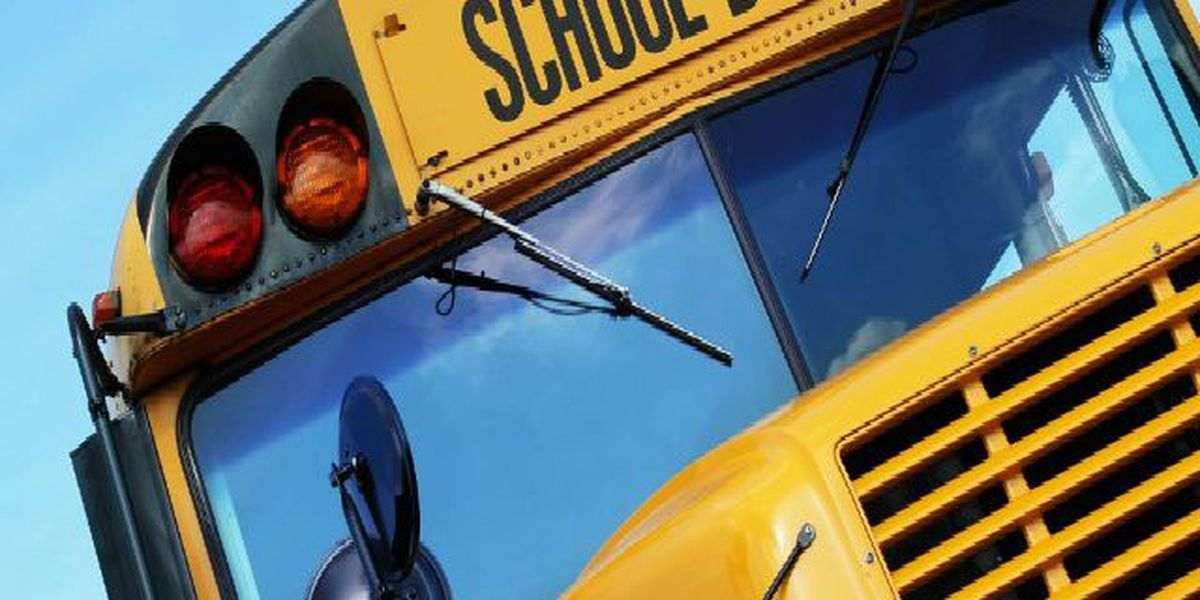 No injuries after school bus catches fire