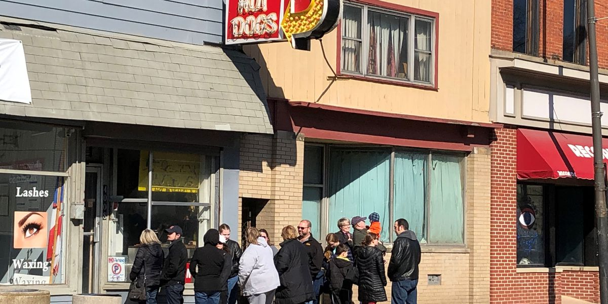Old Fashion Hot Dogs closed Sunday to 'regroup' from heavy volume after announcing upcoming shut down