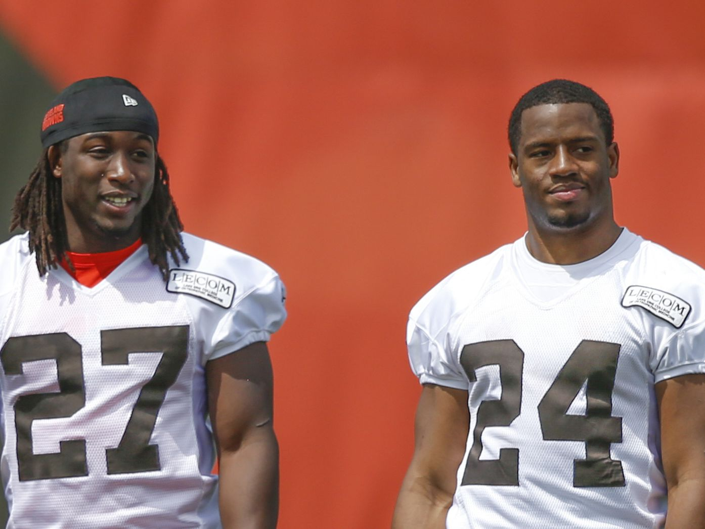 Cleveland Browns' Nick Chubb, Kareem Hunt 'the key to our offense,' says Jarvis Landry