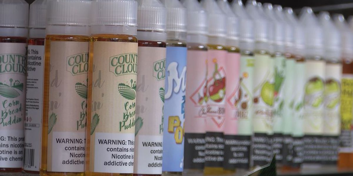Bill that would ban flavored vaping products in Ohio introduced by lawmaker