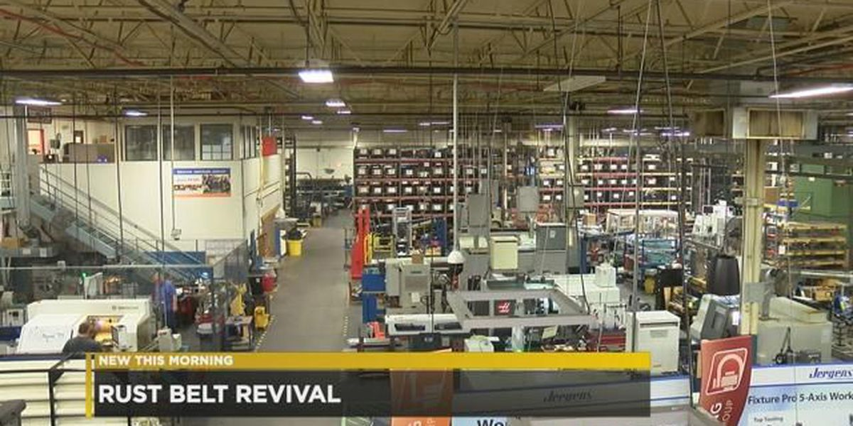 Manufacturing, factory jobs part of 'Rust Belt' revival in Cleveland