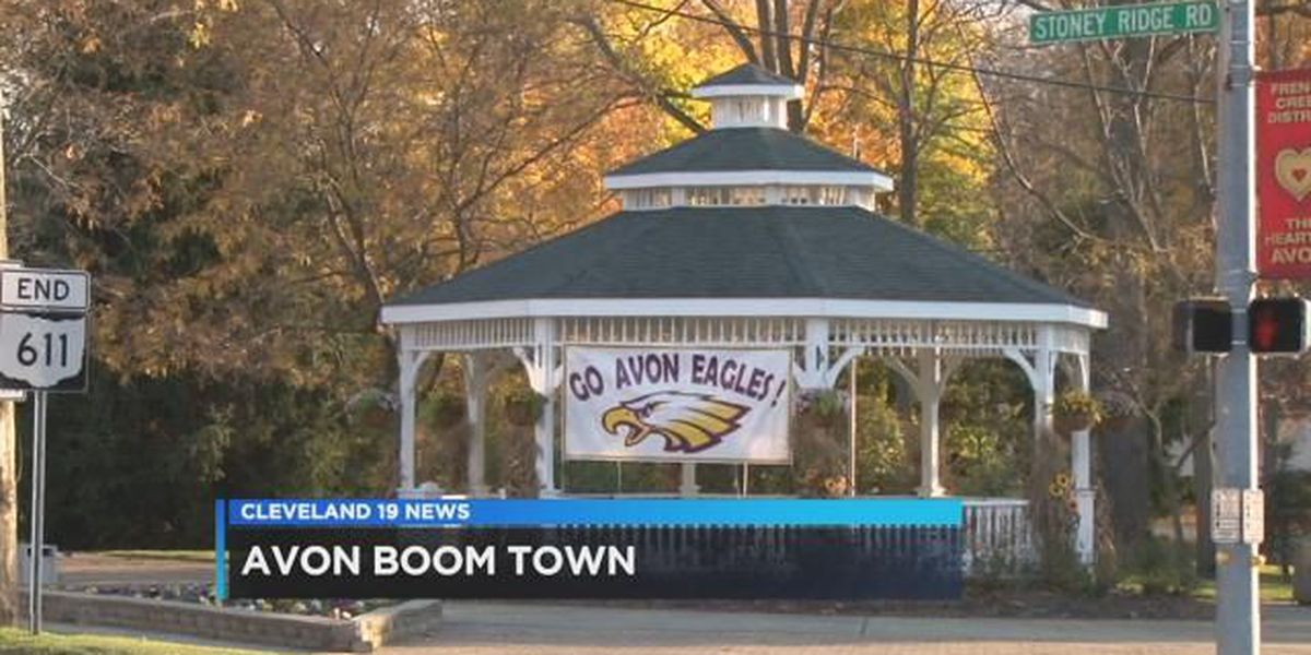 Boomtown: Thousands flock to the popular suburb of Avon