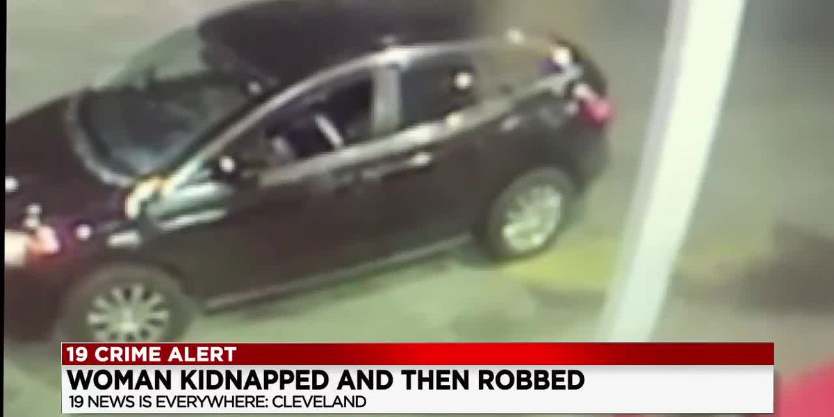 Police looking for men who kidnapped and robbed a woman in Ohio City (video)