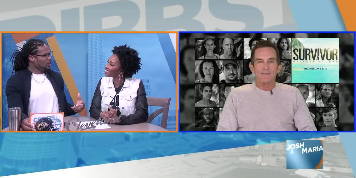 40 Seasons of Survivor: Josh and Maria talk to Survivor host Jeff Probst