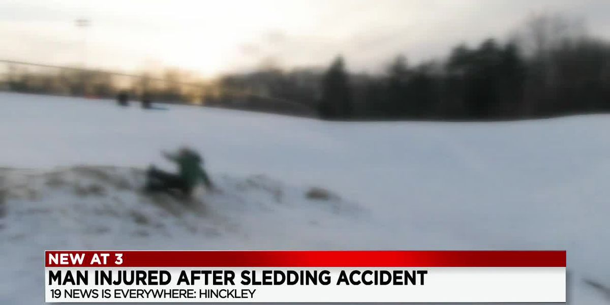 Elryia man severely injured after sledding accident on Hinckley Hill