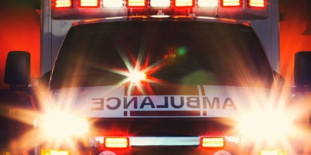 Geauga County ambulance rolls over with two EMTs inside