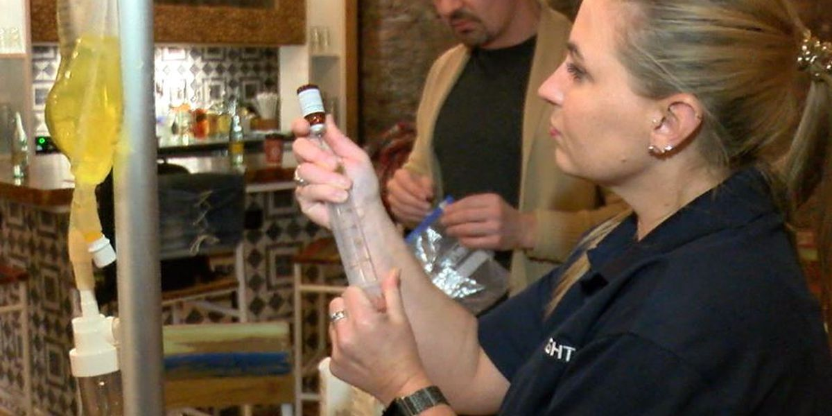 Cleveland has a new mobile IV hydration company that will come to you