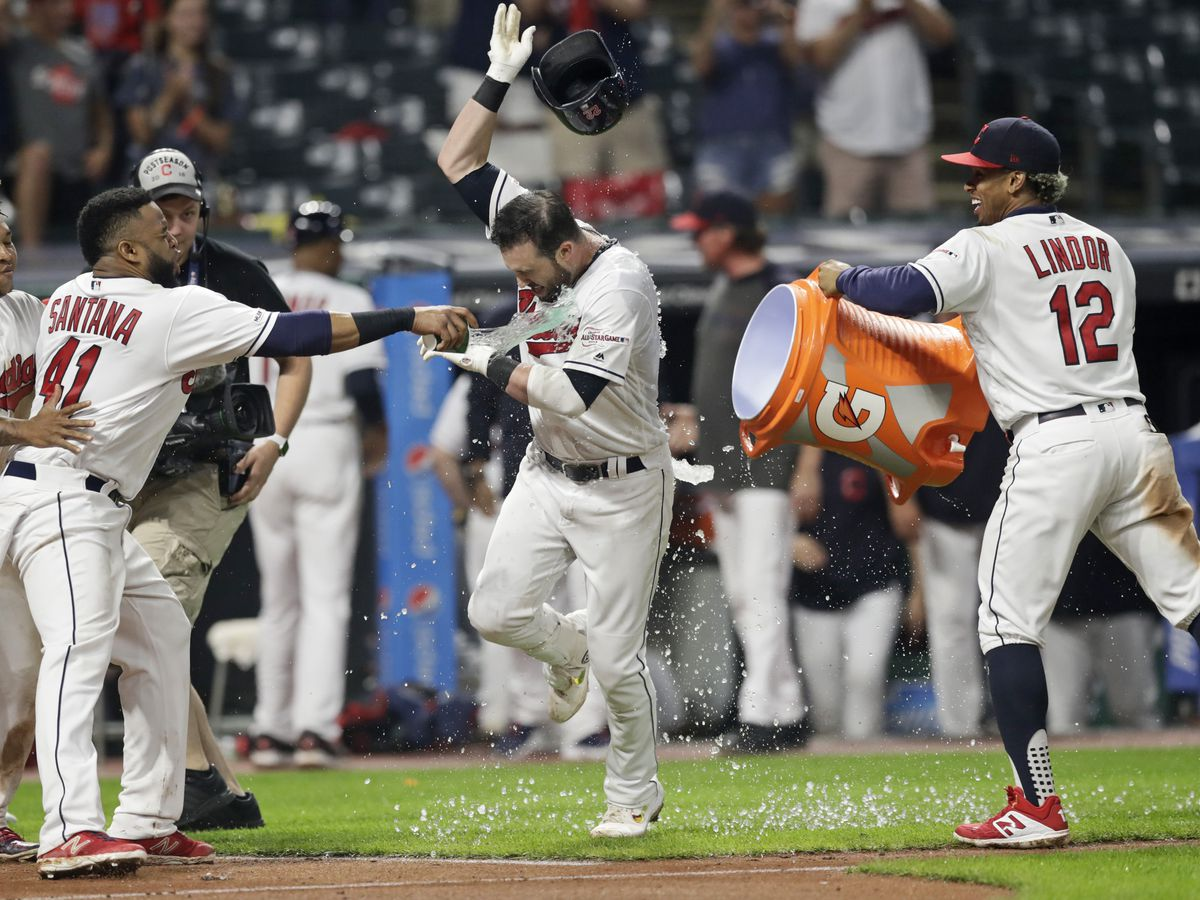 If you weren't up past midnight, you missed Jason Kipnis' epic walk-off home run (video)