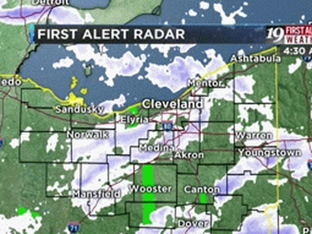 Northeast Ohio Weather: Snow tapering off, wind advisory canceled