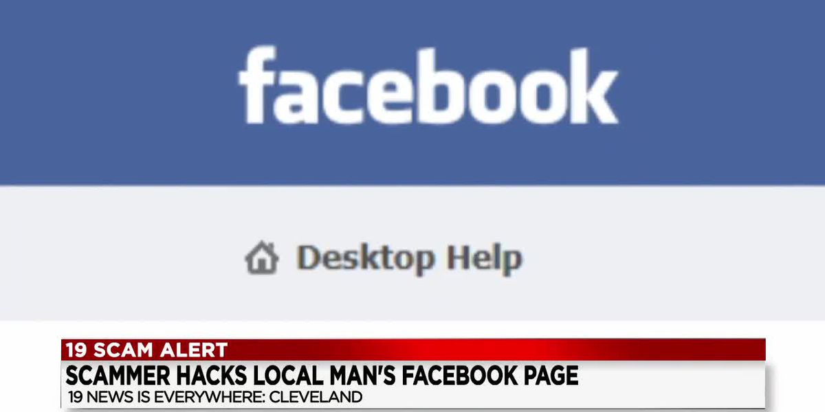 Cleveland man's Facebook page hacked, fake fundraiser posted
