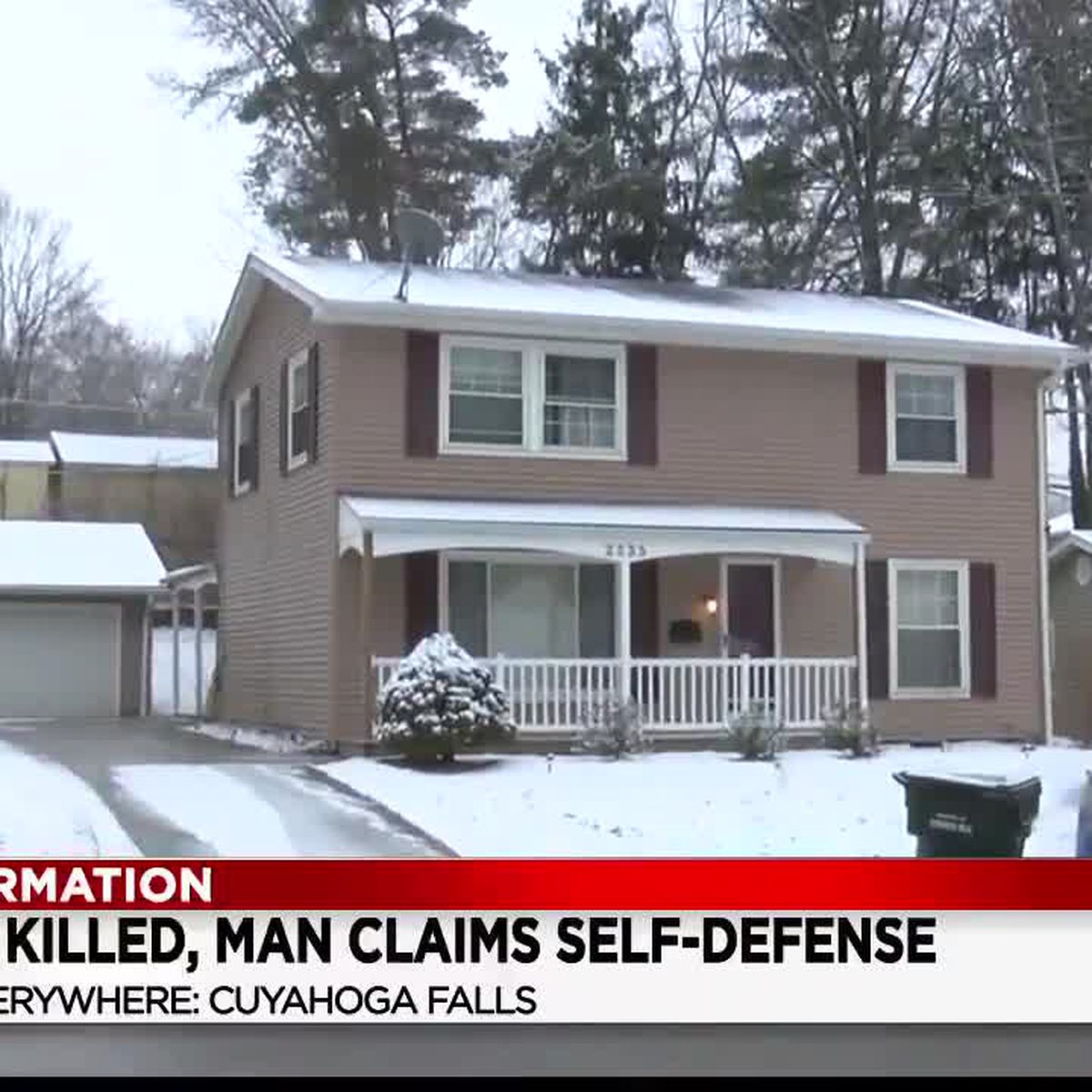 Cuyahoga Falls resident shoots and kills Akron man he claims was an armed intruder
