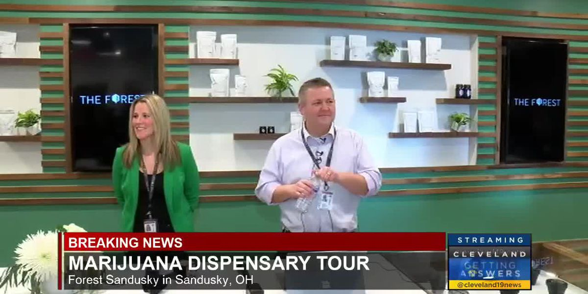 Take a look inside what will be one of Ohio's first medical marijuana dispensaries