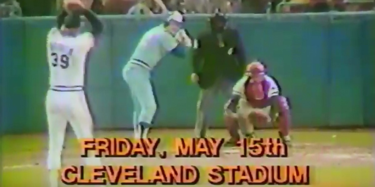 Relive the moment Len Barker pitched the Cleveland Indians' last perfect game 38 years ago