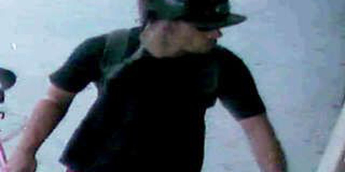 Police hope to ID camera theft suspect, continue search for him