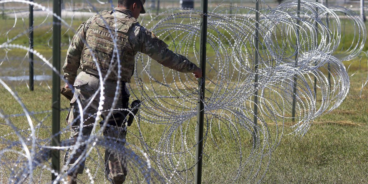Pentagon: Troop contingent on border 'pretty much peaked'