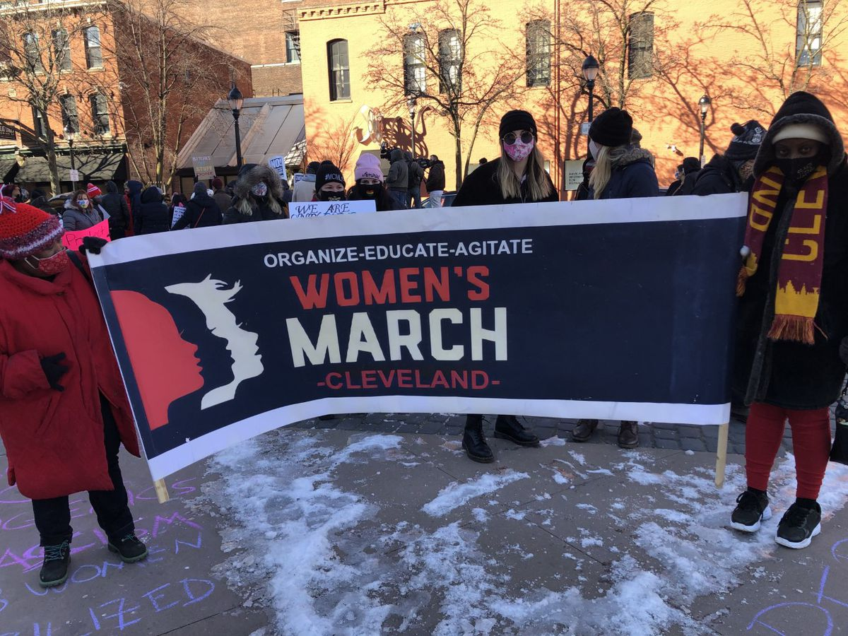 Community gathers in Ohio City for 5th annual Cleveland Women's March
