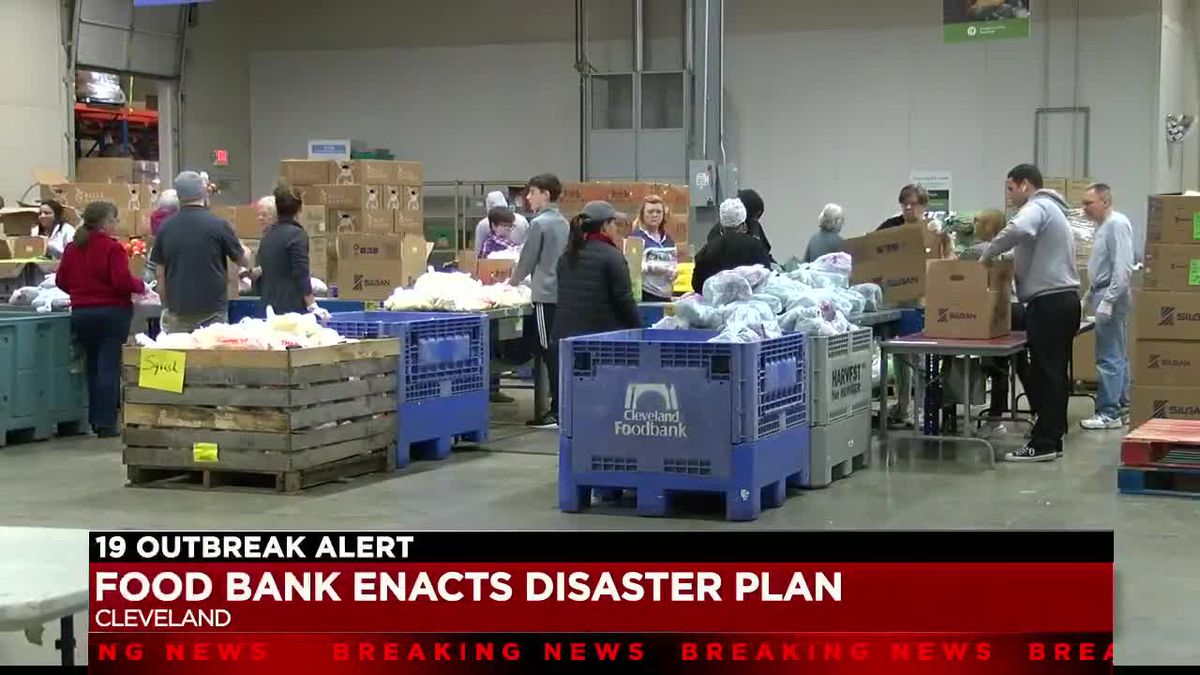 Greater Cleveland Food Bank activates disaster plan to feed hungry families during coronavirus pandemic